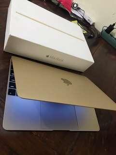 Macbook Retina 12 inch Gold