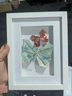 Origami Butterfly frame A5 image