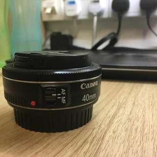 Canon 40mm f2.8 (Used)