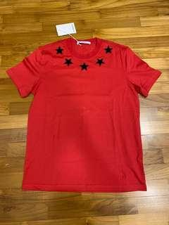 Givenchy Limited Edition Stars Embroided Tee