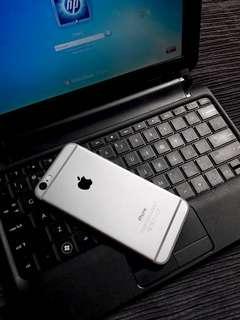 Iphone 6 16gb space gray fullset