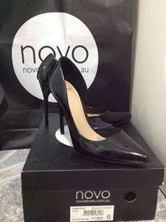 Novo Patent Heels Size6