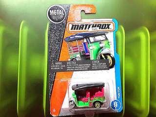 MATCHBOX 英國品牌火柴盒 , 絕版泰國篤篤的士, 泰國製,全新未開過。