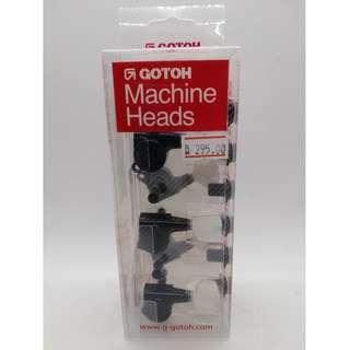 SG381 Gotoh Machine Heads (Right 6-inline - Black)