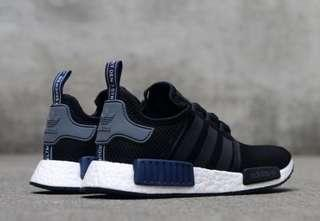 4d7f1d9d8 Adidas NMD R1 Black And Navy Blue