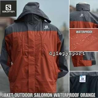 Jaket salomon lokal water proof wind proof iner polar
