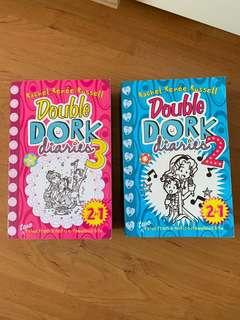 🚚 Double Dork Diaries No. 2 and 3