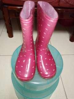 🚚 兒童雨鞋29號