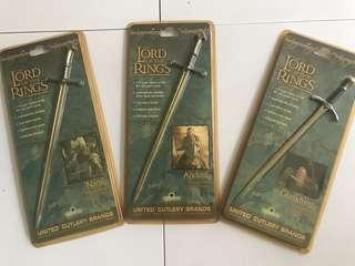 🚚 Lord of the rings - swords