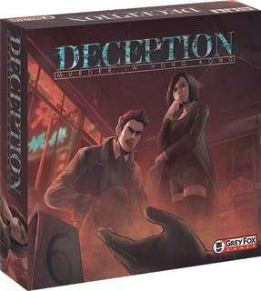 Cheapest - Deception Murder In Hongkong Board Game