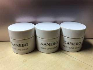🚚 Kanebo Night Lipid Wear travelsize