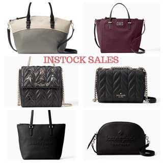 (READY STOCK SALES) Authentic Kate Spade Michael Kors MK Tory Burch Coach Marc Jacobs MJ Bag & Wallet Clutch