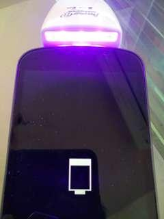 Smartphone/ Tablet UV disinfectant screen cleaner