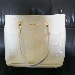 WHITE BAG NEW!!! 1SET