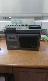 早期大同可攜式收音機/電視機