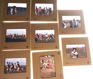 Kodak ektachrome slide 幻燈片 Rugby 欖球 75 年代 美國