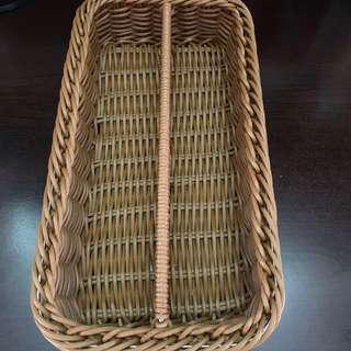 小籐籃(收納筷子/叉/匙)