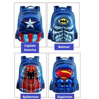 Children School Bag/Various Cartoon Design/Good Quality