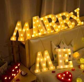 Marry me lights rental
