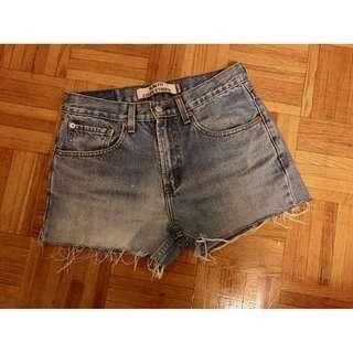 Levi's Distress Shorts