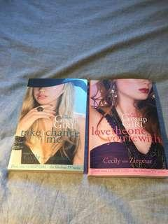 Gossip girl x2 books for $8