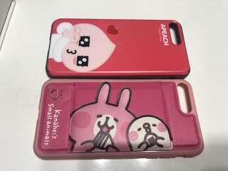 兔兔+apeach 手機殼