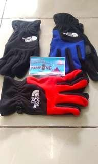 Sarung tangan polar tnf lokal