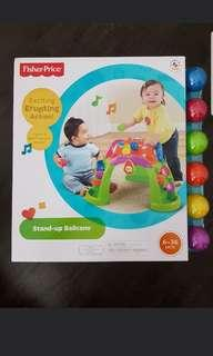 Fisher price stand up ball