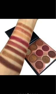 Beauty glazed mini palette eyeshadow (burgundy)