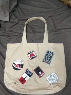 95%新,Maison Kitsune Tote Bag