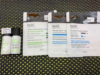Belif Set 套裝 Water Essence / Aqua Bomb / Foam Moist / Toner / Lotion