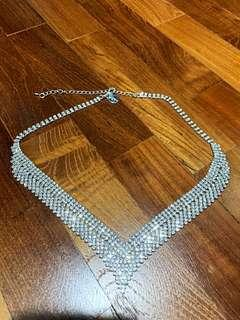 🚚 SELLING Lovisa Swarovski Crystal Bling Necklace