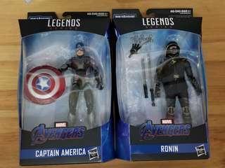 Marvel Legends avengers 4 復仇者 美國隊長 鷹眼 浪人 Ronin 不連 Baf