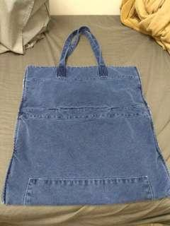 95%新,牛仔布袋 Denim Tote Bag