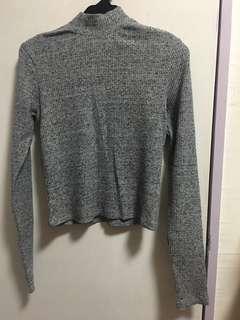 6IXTY 8IGHTY 灰色上衣 grey top