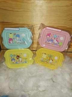🚚 Sanrio characters lunch box (container)