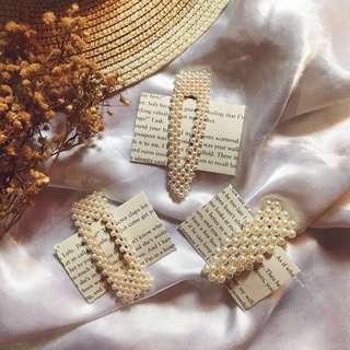 c936262d9 pearl hair clip | Women's Fashion | Carousell Philippines
