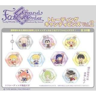 Fate/Grand Order (Design produced by Sanrio) Trading Candy Pins Vol.2 — Ozymandias