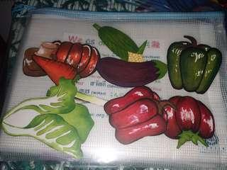 Marker水果素材