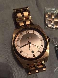 Nixon Rosegold Watch - Monopoly (Unisex)