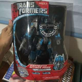 Transformers nightwatch optimus prine