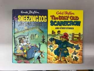 The Sneezing Dog and The Ugly Old Scarecrow by Enid Blyton