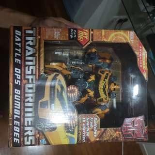 🚚 Transformers battle ops bumblebee