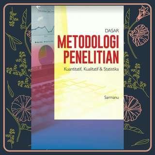 EBOOK PDF DASAR METODOLOGI PENELITIAN KUANTITATIF, KUALITATIF, DAN STATISTIKA