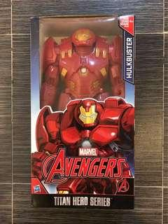 """Hulkbuster - Marvel Avengers Titan Hero Series Hulkbuster 12"""" Action Figure Iron Man"""