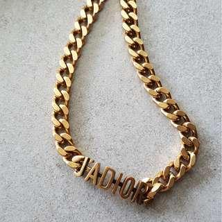 dior* inspired necklace
