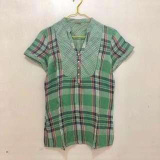 Esprit Green Shirt