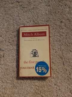 🚚 The Five People You Meet in Heaven by Mitch Albom