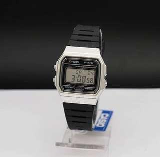 Casio Digital Watch - Silver