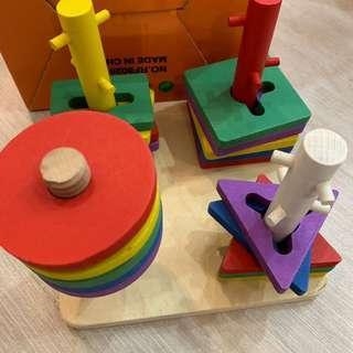 木製益智玩具